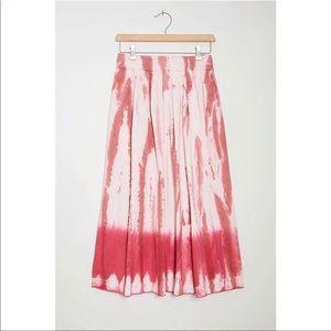 Anthropologie TINY Ansley Tie-Dye Wrap Skirt